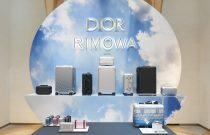 DIOR + RIMOWA capsule collection worldwide preview launch at the CHAMPS-ELYSÉES Store